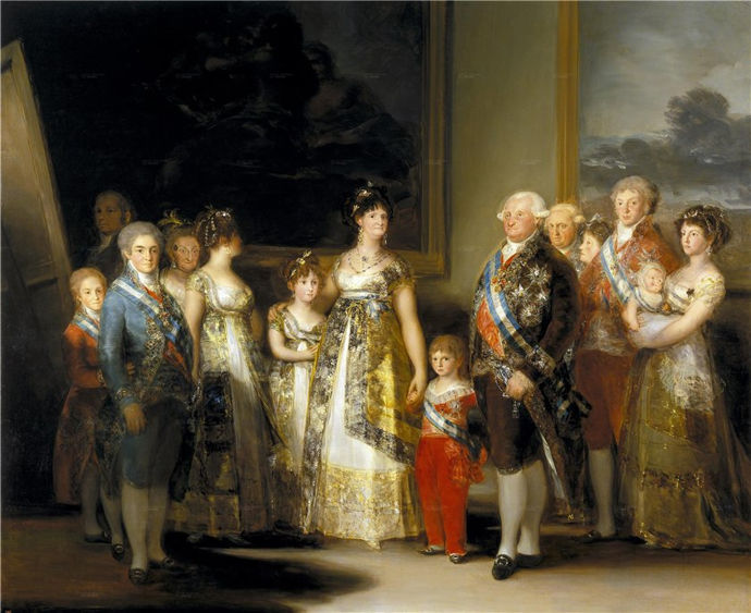 Prado museum_goya_the-family-of-karlos-iv