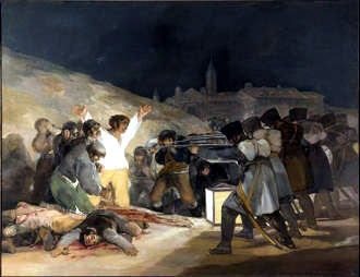 Prado museum_goya_the-executions-on-principe-pio-hill