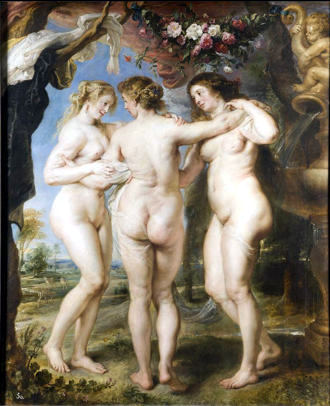 Prado museum_rubens_the-tree-graces